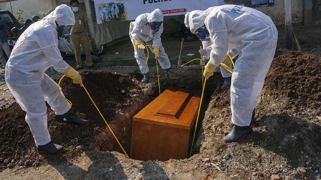 Nekat buka peti jenazah, 15 Orang di Sidoarjo terinfeksi
