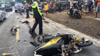 Kecelakaan di Jl Umum Desa Kecamatan Rejotangan Kabupaten Tulungagung Jawa Timur Lintasjatim.com