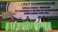 PC IPNU IPPNU Tulungagung Rapat Koordinasi dengan PC LP Ma'arif Tulungagung Lintasjatim.com