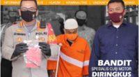 Spesialis Pencuri Motor di Malang Berhasil Ditangkap