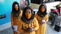 Tiga Perempuan Main Tiktok id Jembatan Suramadu