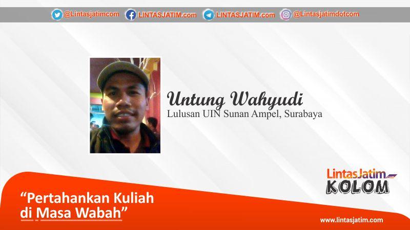 Untung Wahyudi, lulusan UIN Sunan Ampel, Surabaya