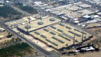 Jalanan di sekitar Masjid Namirah tempat khotbah Arafah tampak sepi pada haji 2020, Kamis (30/7). Foto: Twitter/@hsharifain
