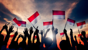 Bendera Merah Putih Berkibar, Kemerdekaan Republik Indonesia 1945 Lintasjatim.com