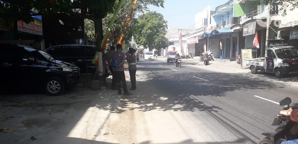 Kecelakaan di Jalan Kapten Tendean, Kelurahan Ngronggo, Kota Kediri