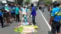 Kecelakaan di Jalan Lingkar Timur Lumajang Lintasjatim.com
