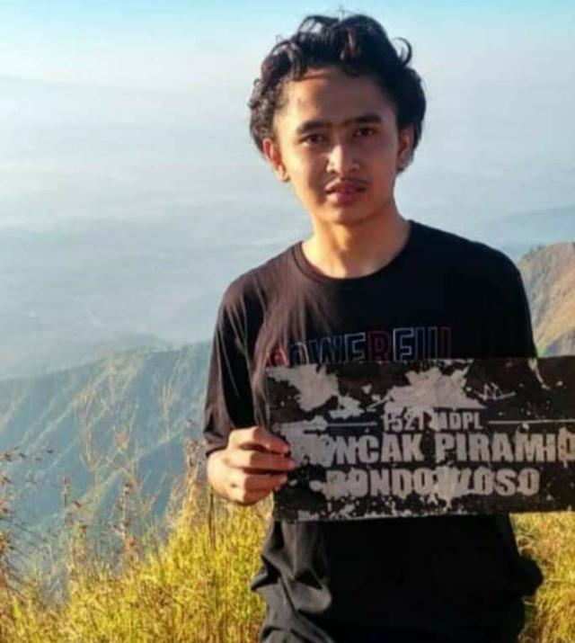 Multazam alias Arik, Korban Tewas Jatuh ke Jurang Bukit Piramid Bondowoso Lintasjatim.com