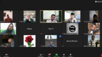 Pelajar NU Blitar Rapat Via Zoom Meeting