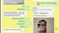 Screenshoot Chat Mesra Sekda Bondowoso Dengan Seorang Perempuan