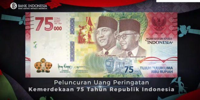 Uang Baru Pecahan Rp 75.000, Begini Cara dan Syarat ...