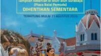 Tampilan Kesenian di Balai Pemuda Surabaya Dihentikan