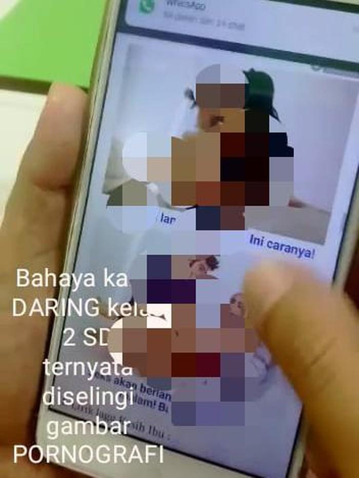 Viral Situs Pembelajaran Daring Disisipi Iklan Pornografi