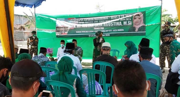 Anggota DPRD Provinsi Jawa Timur, Dra Hj Aisyah Lilia Agustina, M.Si