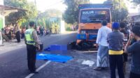 Kecelakaan di Jalan Raya Ngletih Pesantren Kota Kediri Lintasjatim.com