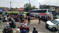 Kecelakaan di Jalan Raya Song-song, Kecamatan Singosari Malang Lintasjatim.com