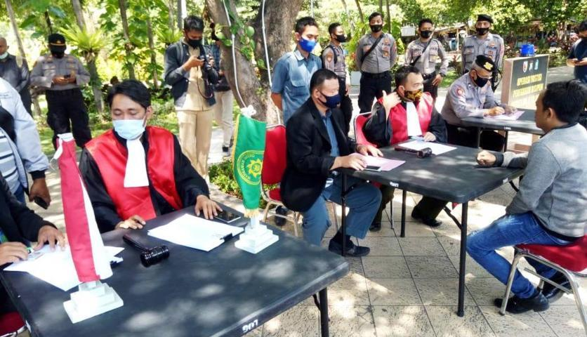 Operasi Yustisi Penegakan Disiplin di Banyuwangi Lintasjatim.com