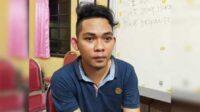Pelaku, Hepy Prima (23), warga warga Mindi RT 01 RW 01 Kecamatan Porong