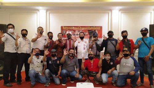 sejumlah perwakilan dari lintas Lembaga Swadaya Masyarakat (LSM), Ormas dan Aktivis.