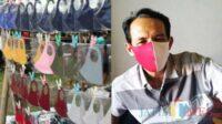 Penujual Masker di Tulungagung