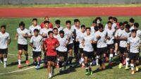 Timnas U-19 Saat Sedang Berlatih Untuk Meningkatkan Kemampuan