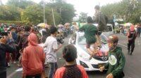 Demo Buruh Tolak Omnibus Law di Surabaya Lintasjatim.com