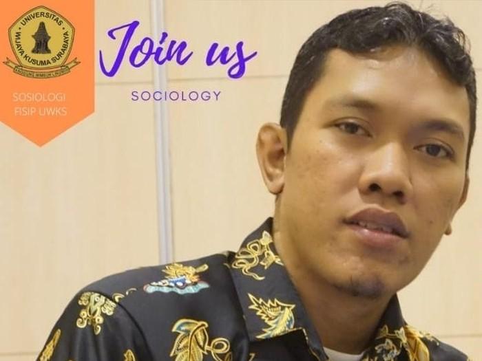 Dosen Fakultas Ilmu Sosial dan Ilmu Politik (FISIP) Universitas Wijaya Kusuma Surabaya, Umar SholahudinFoto Dok Pribadi