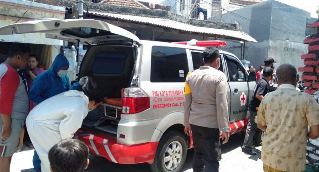 Evakuasi Korban Pembacokan