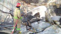Kebakaran Pabrik Pemotong Ayam di Jombang