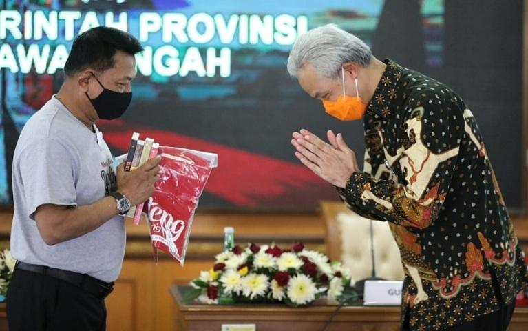 Moeldoko Bertemu dengan Ganjar Pranowo Lintasjatim.com