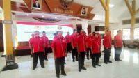Pelantikan Komite Olahraga Nasional Indonesia (Koni) Kabupaten Ngawi periode 2020-2024, Rabu (211020).