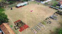 Upacara HSN MWC NU Wilangan Kabupaten Nganjuk Lintasjatim.com