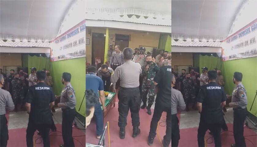 Viral Video Polisi Pesta di Tengah Pandemi Lintasjatim.com
