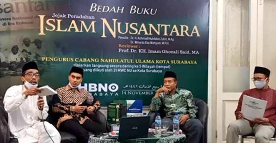 Bedah Buku Jejak Peradaban Islam Nusantara Lintasjatim.com