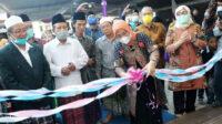 Menteri Ketenagakerjaan, Ida Fauziyah, meresmikan BLK Komunitas di Pondok Pesantren Darul Dakwah, Mojokerto, hari Sabtu (07/11/2020).