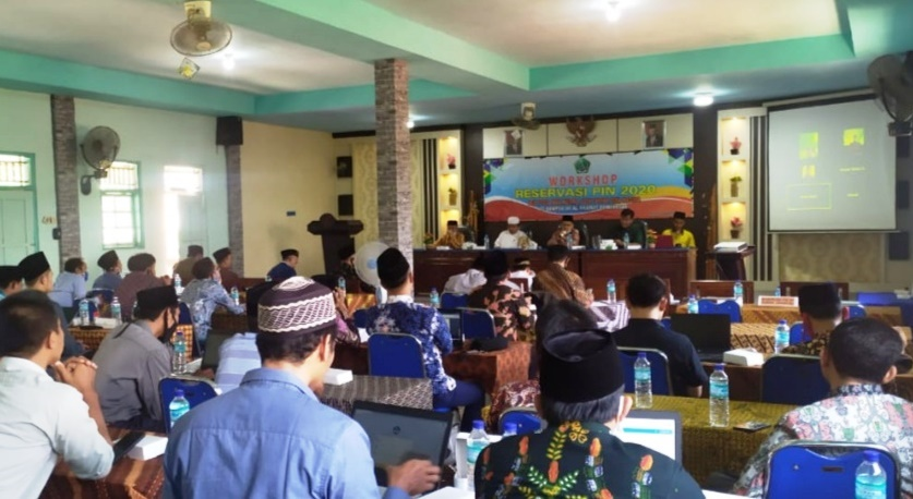 Pelatihan Workshop Nasional dengan tema 'Reservasi Penomoran Ijazah Nasional (PIN) Bagi PTKIS Zona Madura