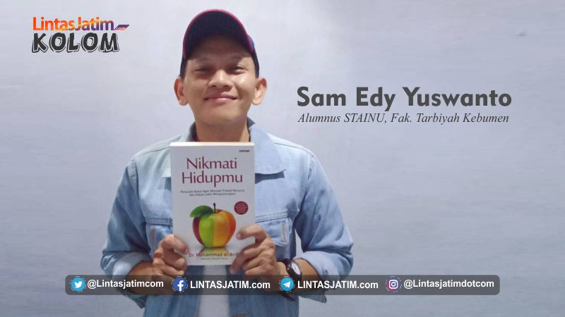 Sam Edy Yuswanto, alumnus STAINU, Fak. Tarbiyah Kebumen