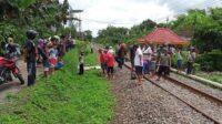 Seorang Nenek Tertabrak Kereta Api di Beru, Wlingi, Blitar