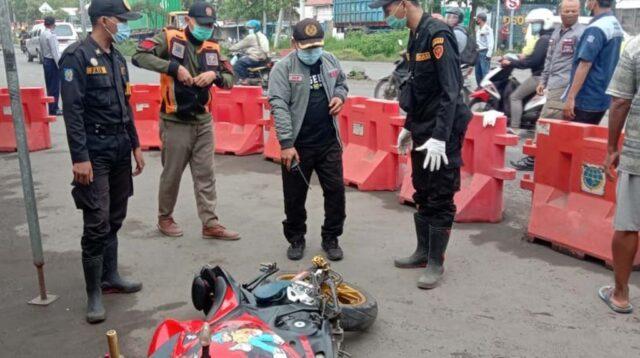 Kecelakaan di Osowilangun Surabaya