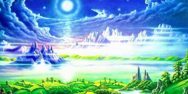 Ilustrasi Penghuni Surga yang Dipilih Allah