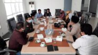 Ketua Panitia Muktamar Pemikiran Dosen PMII Prof. Dr. M. Noor Harisudin, M.Fil.I [Lintas Jatim]
