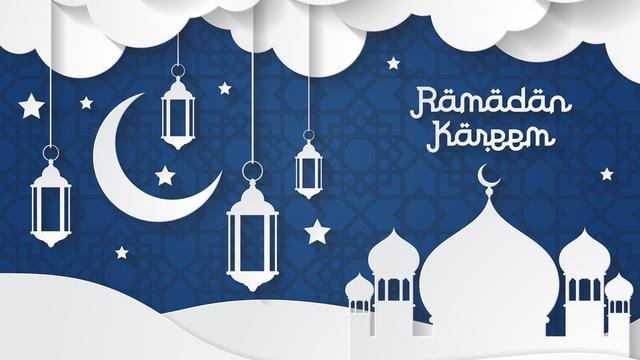 Ilustrasi Bulan Ramadhan