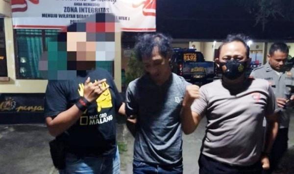 Maling Ponsel yang Diamankan Polisi
