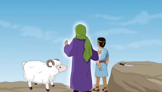 Ilustrasi Kisah Nabi Ibrahim dan Nabi Ismail AS