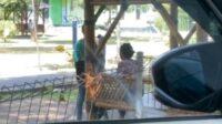 Remaja Ketahuan Mesum di Taman Maramis Probolinggo