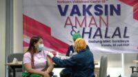 Vaksinasi di Kodam V Brawijaya