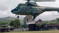 Helikopter di Acara pernikahan