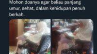 Ibu Nyai Hj Shinta Nuriyah Sedang Mengaji