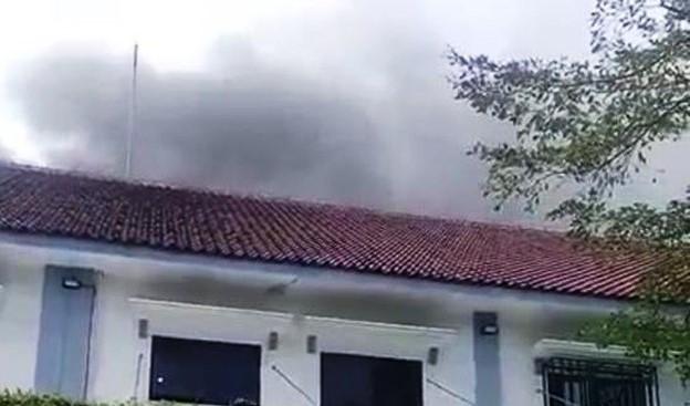 Kebakaran Gudang RSUD Jombang