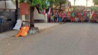 Tempat Kejadian Perkara Pemubuhan Pria di Mojoagung Mojokerto