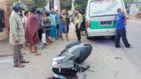 Kecelakaan Beruntun di Kecamatan Banyakan Kediri